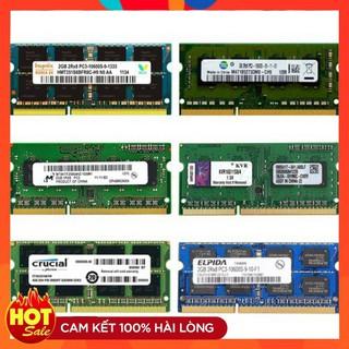 Ram Laptop 4GB 2GB DDR3 DDR3L bus 1600 1333 PC3 nhiều hãng micron hynix samsung . . .