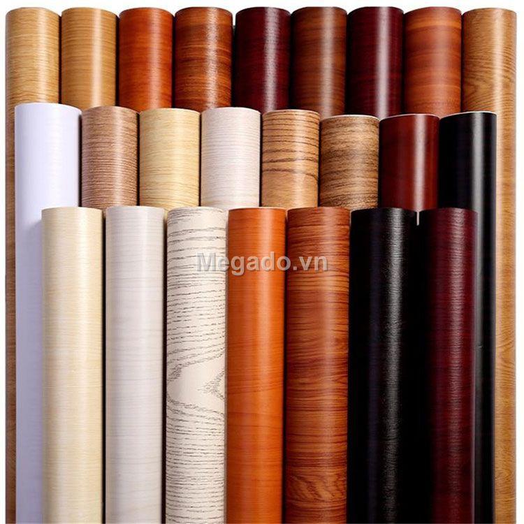 Cuộn dài 10m Giấy dán tường giả gỗ chống nước C0030 (Size: 45cm*10m)