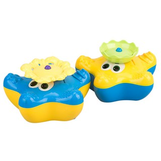 Lovely Starfish Kids Electric Floating Spray Water Bath Shower Pool Play Toy – Color Random