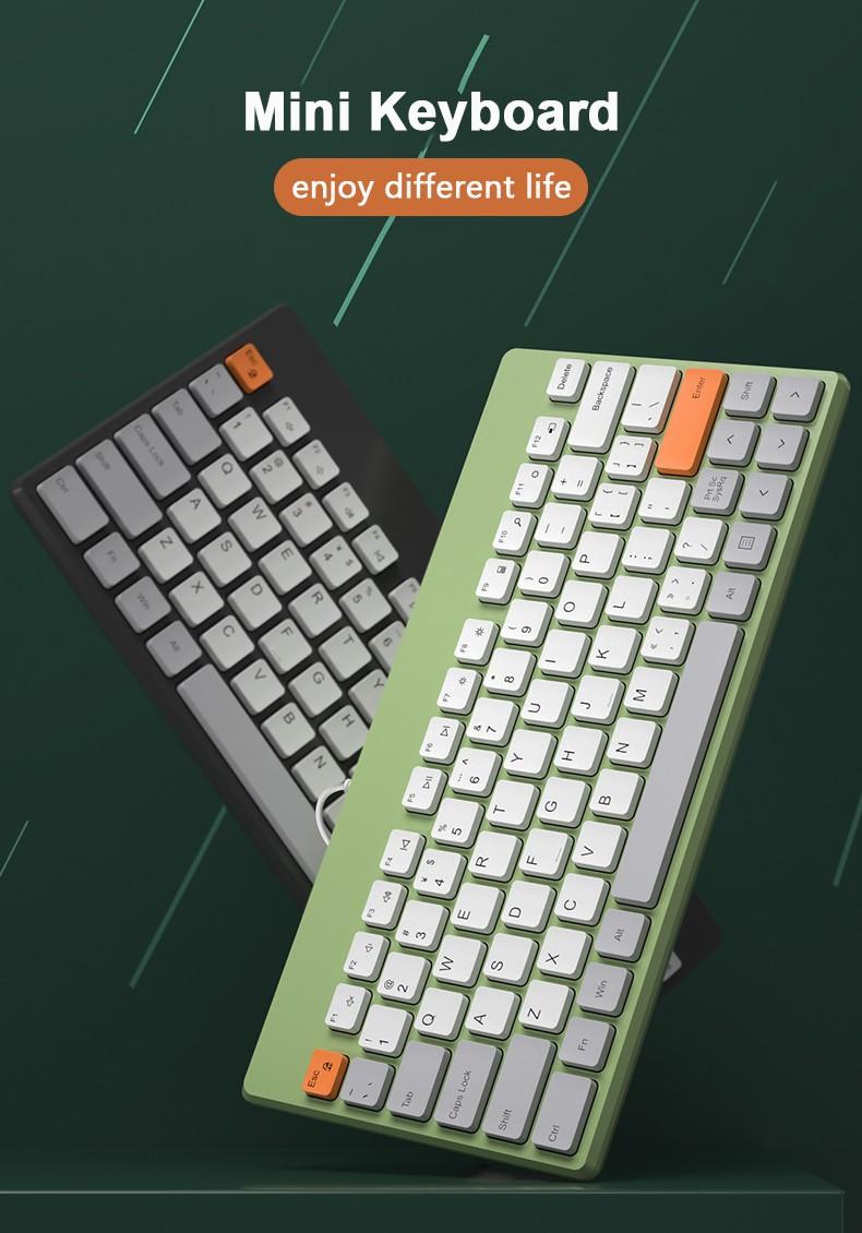 Bàn Phím Chơi Game Mini Có Dây Cho Pc / Laptop / Macbook
