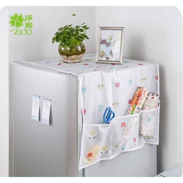 Sỉ 10 tấm phủ tủ lạnh nilon bền đẹp giá tốt