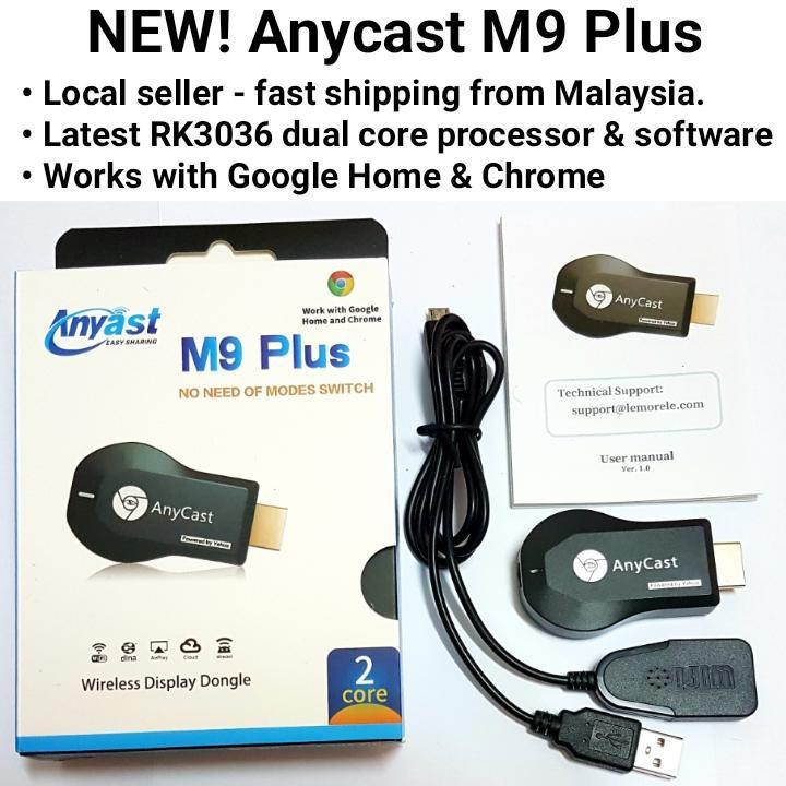 Thiết bị kết nối không dây HDMI Anycast M9 Plus thế hệ mới phukienso_doc