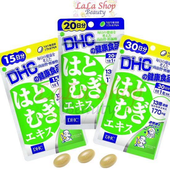 Viên uống Trắng da DHC Nhật Bản Adlay Extract