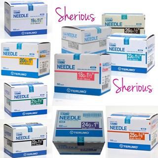 Terbaik - Needle Terumo Ukuran 18G,23G,24G,25G,26G,27G
