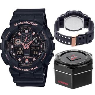 HOT Đồng hồ nam G-SHOCK chính hãng Casio Anh Khuê GA-100GBX-1A4DR Chống nước tuyệt đối