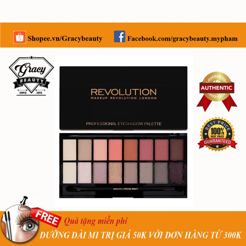 Bảng phấn mắt Makeup Revolution New-trals & Neutrals - 2459656 , 530228596 , 322_530228596 , 325000 , Bang-phan-mat-Makeup-Revolution-New-trals-Neutrals-322_530228596 , shopee.vn , Bảng phấn mắt Makeup Revolution New-trals & Neutrals