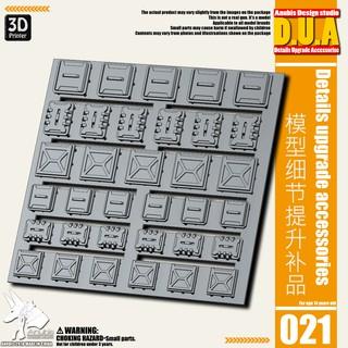 Phụ kiện mod ANUBIS – Chi tiết nhựa in 3D DUA021 chuyên dụng cho mô hình