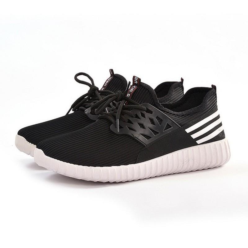 Giày sneaker thời trang nam - Verygood - MS8 - màu đen Vrg1378