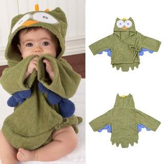 Children'S Hooded Bath Towel Baby Hooded Cape Bathrobes Absorbent Hooded Soft Newborn Towel
