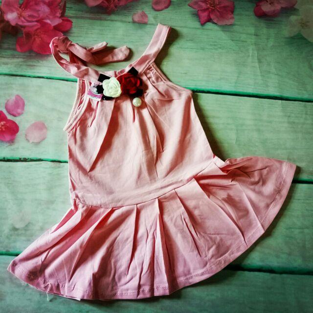 Váy yếm hoa cho bé( tuong vy)