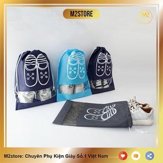 Túi Đựng Giày Hoạ Tiết Chống Bẩn Đi Du Lịch Tiện Lợi XIMO Bảo Vệ Giày (TDG01)