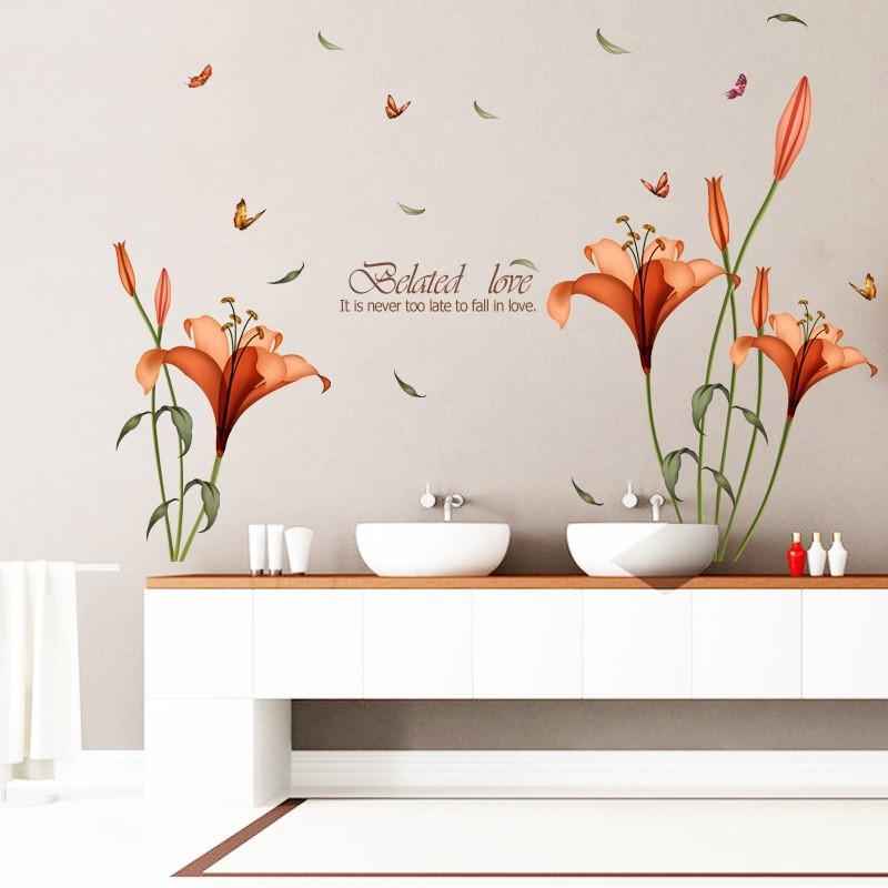 Decal dán tường, tranh dán tường, tranh trang trí decor phòng nhiều mẫu lựa chọn - Mẫu 5