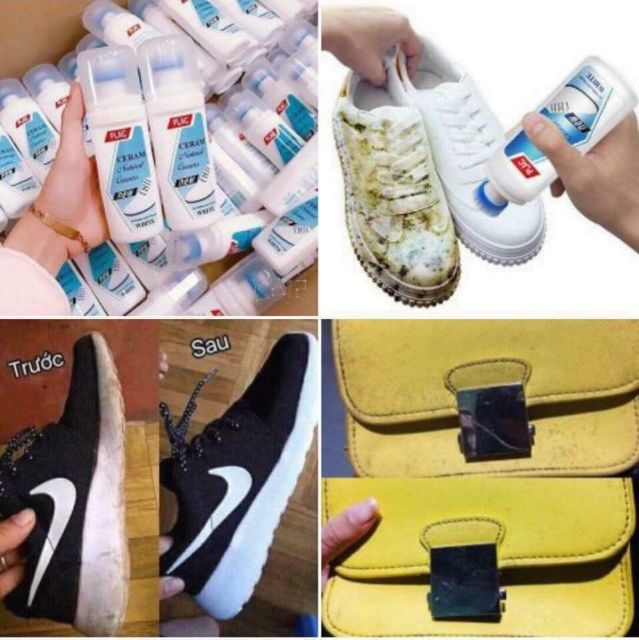 Nước Tẩy vệ sinh giày dép, túi xách và các vận dụng khác