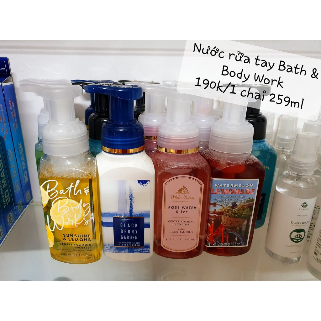 Nước Rửa Tay Bath &Body Works Gentle Foaming Hand Soap 259ml