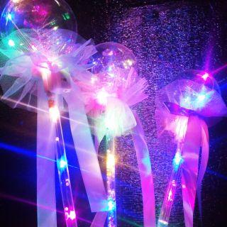 Gậy phát sáng quả cầu pha lê – đồ chơi trung thu cho bé