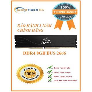 [Mã 157ELSALE hoàn 7% đơn 300K] Ram PC DDR4 8GB BUS 2666 XSTAR chính hãng bảo hành 3 năm thumbnail