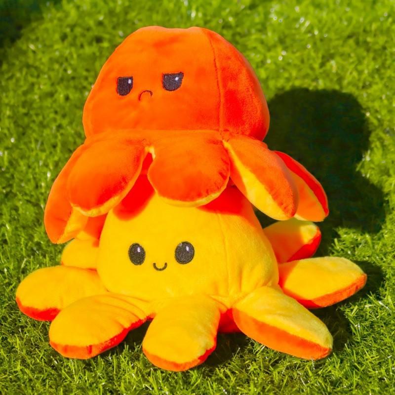 Bạch Tuộc Cảm Xúc Bông 2 Mặt Cao Cấp Bạch Tuột size lớn big to khổng lồ mini nhỏ S 2 mặt 20cm 25cm 30cm 40cm 60cm 70cm