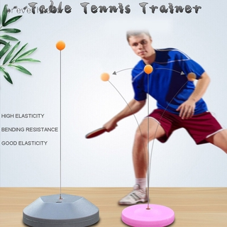 ♬♪♬ Tables Tennis Rebound Trainer Paddle PingPong Training Equipment Rebound Shaft Backbound Machine