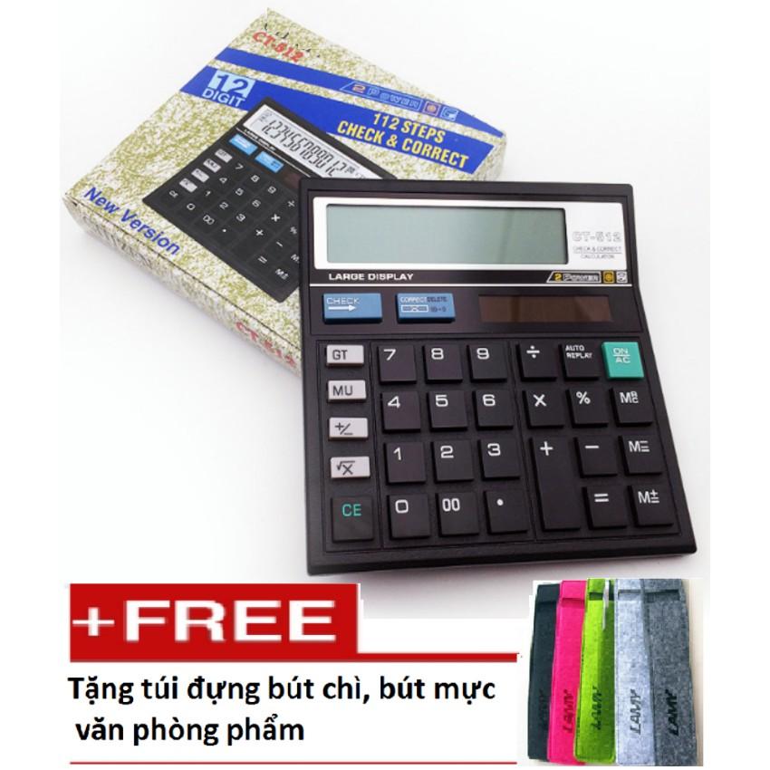 Máy tính cầm tay cho trường học và văn phòng T6I05 tặng 01 túi đựng bút M 335 - 3066471 , 1057141983 , 322_1057141983 , 145000 , May-tinh-cam-tay-cho-truong-hoc-va-van-phong-T6I05-tang-01-tui-dung-but-M-335-322_1057141983 , shopee.vn , Máy tính cầm tay cho trường học và văn phòng T6I05 tặng 01 túi đựng bút M 335