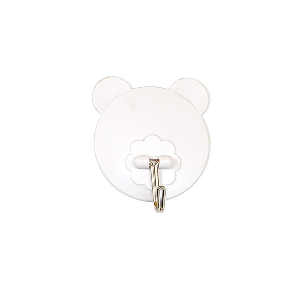 Móc dán tường treo đồ hình chú gấu tiện dụng