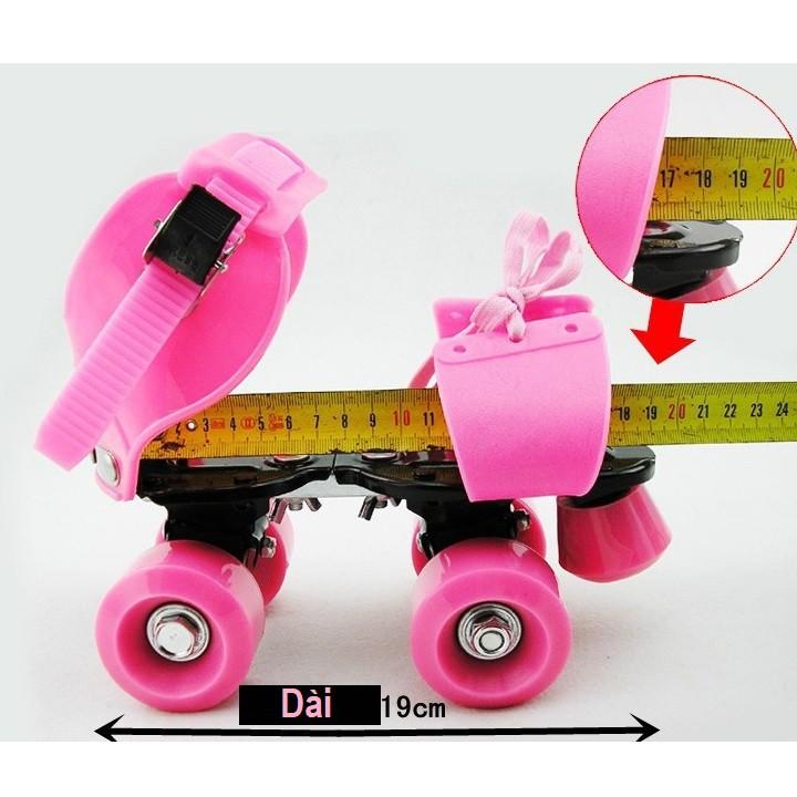 Giày patin trẻ em 2 hàng bánh (2-6 tuổi) kiểu dáng sandal đi được luôn không lo bị ngã