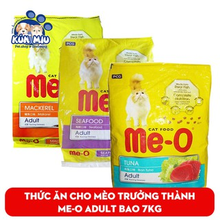 Thức ăn cho mèo lớn đã trưởng thành trên 1 tuổi Me-O Adult 7kg (20 gói 350gr) + Tặng kèm 1 xẻng xúc cát thumbnail