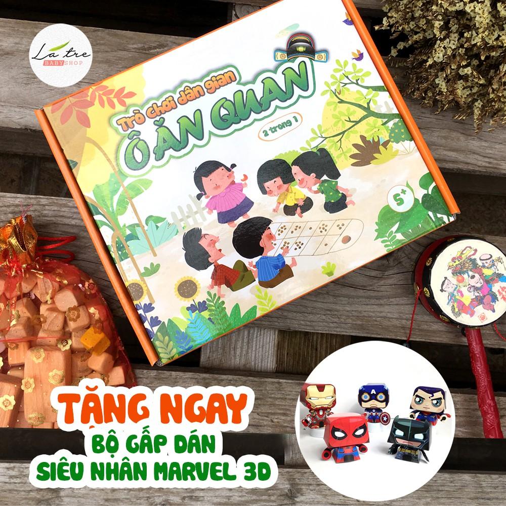 Board game-Trò chơi ô ăn quan-trò chơi gia đình tương tác phát triển tư duy và vui nhộn