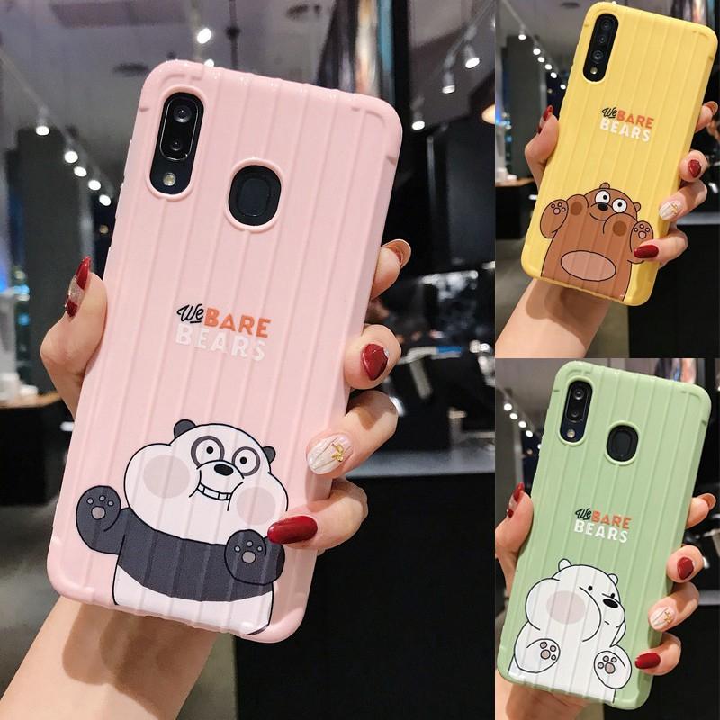 Ốp chống sốc dễ thương cho Samsung Galaxy A11 A21s A51 A71 M31 M21 M11 M30S A10S A20S A30S A50s A50 A70 A10 A20 A30
