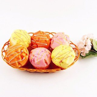 Simulated Puff Cupcake Toy Bread Squishy Super Slow Rising Exclusive Scented Toy