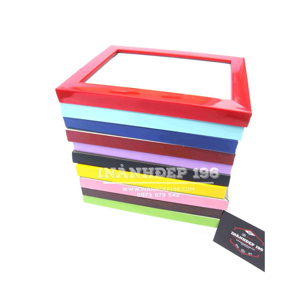 1 khung để bàn cạnh nhỏ hộp xinh xắn cỡ 9x13