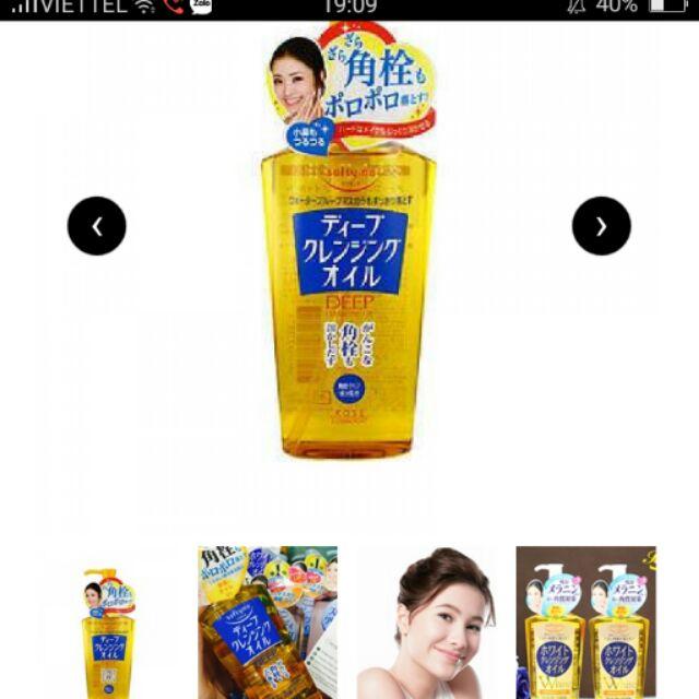 Dầu tẩy trang kose Nhật Bản - 9945360 , 416915792 , 322_416915792 , 250000 , Dau-tay-trang-kose-Nhat-Ban-322_416915792 , shopee.vn , Dầu tẩy trang kose Nhật Bản