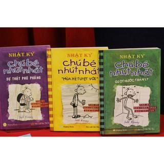 Sách - Combo 3 cuốn Nhật Ký Cậu Bé Nhút Nhát (Giọt nước tràn ly, Mùa hè tuyệt vời, Sự thật thumbnail
