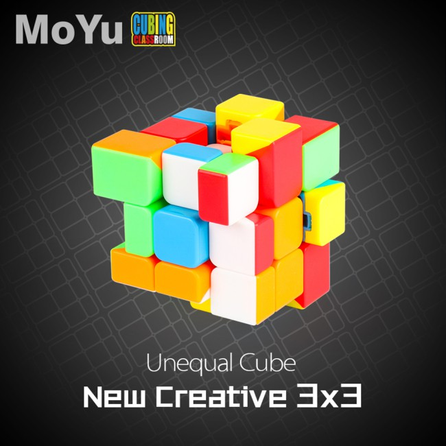 3x3 Inequilateral Magic Puzzle Cube Puzzle Speed Cube Adult Kids Educational Toy