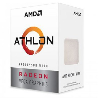 CPU AMD Ryzen Athlon 200GE 3.2 GHz 5MB 2 cores 4 threads Radeon Vega 3 socket AM4 35W thumbnail