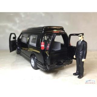 Đồ chơi mô hình xe Ô Tô GMC Savana Van 1:32