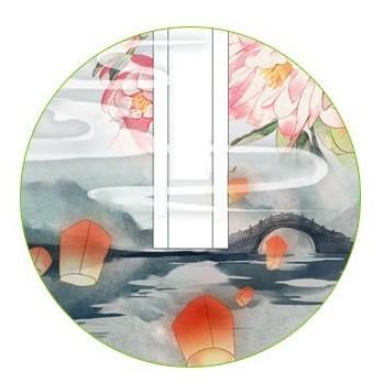 Washi tape Thiên Chi Cảnh chiết lẻ