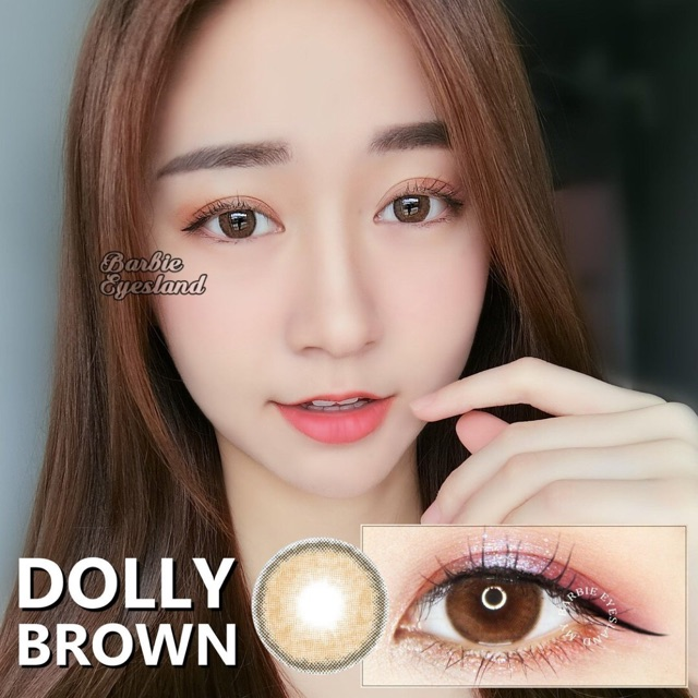 CONTACT LENS BROWN