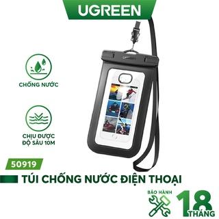 Túi đựng điện thoại UGREEN 60959 50919 chống nước tiêu chuẩn IPX8 độ sâu 10m- Hàng phân phối chính hãng - Bảo hành 18 th thumbnail