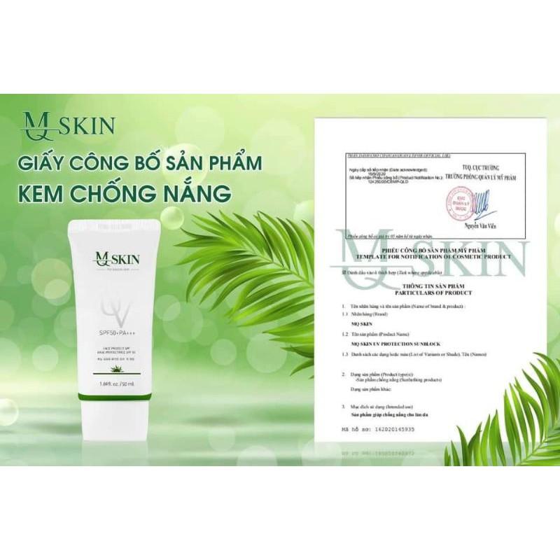 Chính hãng -kem chống nắng chiết xuất từ nhân sâm hàn quốc MQ SKIN | Shopee  Việt Nam