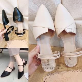 Giày nữ độn đế 3p mang 2 kiểu dáng hàn quốc - mã 766