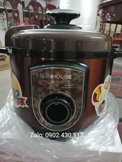 Nồi áp suất điện Sunhouse SHD1550 chính hãng giá tốt