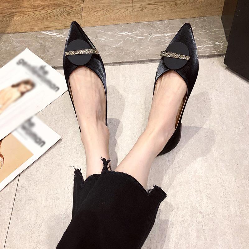 Giày Búp Bê Mũi Nhọn Thời Trang Cho Nữ, Giày Đế Bằng Giày Bệt Nữ