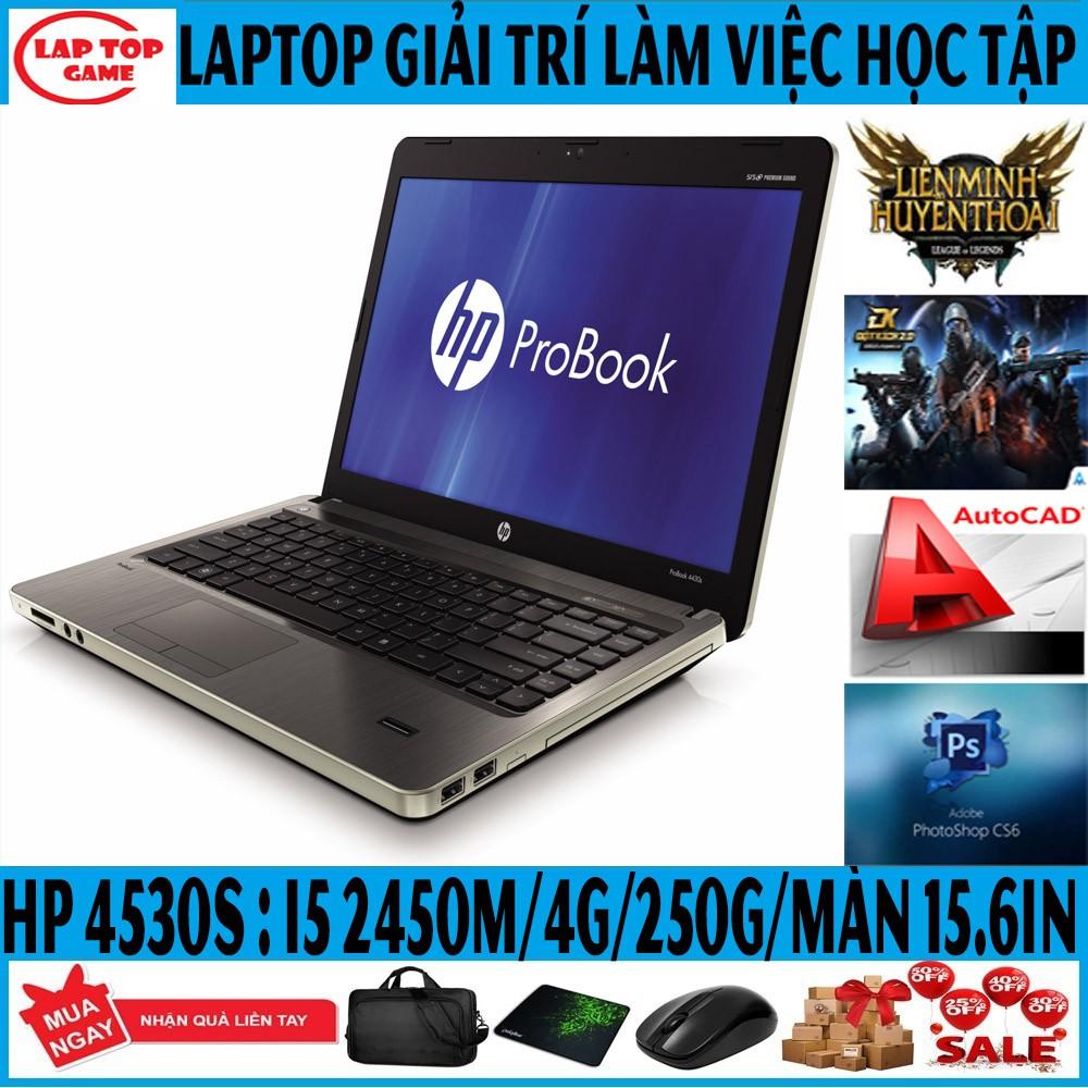 LAPTOP HP Probook 4530s (i5-2520M, ram 4G, hdd 250GB,VGA on Intel HD 3000, 15.6 inc