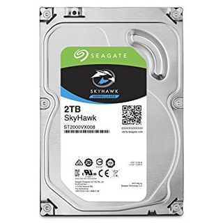 Ổ Cứng HDD Video Seagate SkyHawk 2TB/64MB/3.5 – ST2000VX008