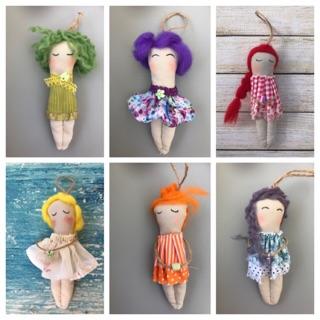Búp bê vải handmade loại mini