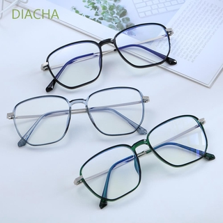 DIACHA Unisex Office Computer Goggles Square Frame Safety Goggles Blue Light Blocking Glasses Vision Care Anti Eyestrain Retro Radiation Protection Eyewear Gaming Eyeglasses