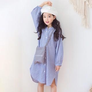 Váy áo sơ mi dài tay dành cho bé gái Sophia V39 thumbnail