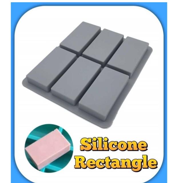 พิมพ์ซิลิโคน สี่เหลี่ยมผืนผ้า( Mold Silicone)
