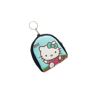[Mã FAMALLT5 giảm 15% đơn 150K] Ví móc khóa đựng tiền lẻ, đồ dùng cá nhân nhỏ gọn TROY Oval hình mèo Kitty thumbnail