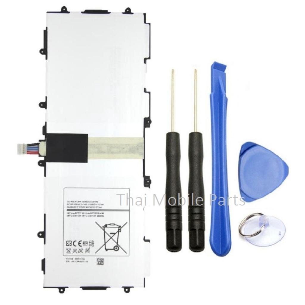 """เคสนุ่ม Battery for Galaxy Tab 3 10.1""""  with tool kit  6800  mAh แบตเตอรี่ทดแทนสำหรับ กาแลคซี่  แทป3 10.1นิ้ว  พร้อมอุปก"""